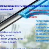 Puhastusteenused, Услуги по уборке-1